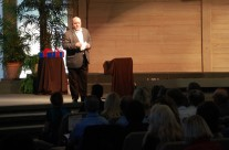 Dean Speaks – Addressing the audience
