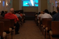 Dean Speaks – Simulcast into remote Chapel